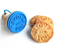 BPA Free Custom Silicone Cookie Stamp /Cookie Cutter/Cookie Press