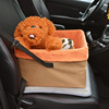 Folding safety pet car seat carrier Booster Seat Dog Travel Carrier