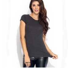 short sleeve Blank tight fit t-shirts for women