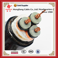 Low smoke PVC sheathed 25/36kV XLPE insulated SWA armoured cable