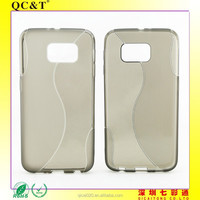 on Alibaba TUP case soft cell phone pouch S line phone tpu case For samsung S6 / G920F