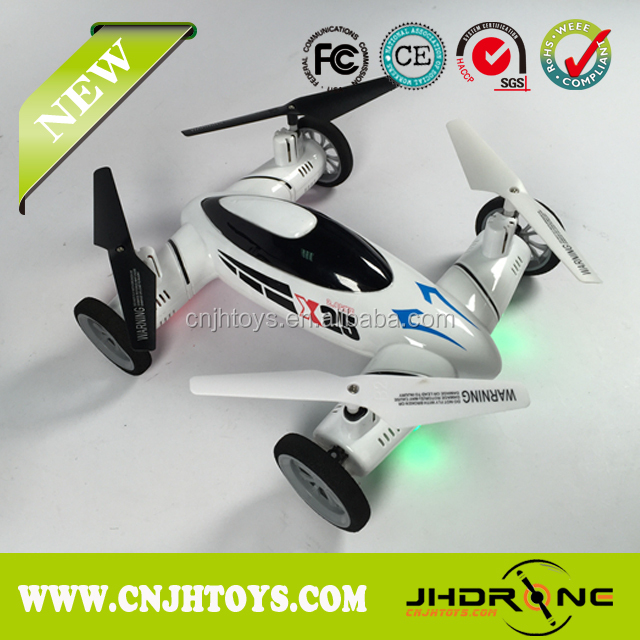 NEW ARRIVAL!!! 2.4g 8ch quadcopter car with 6-axis gyro 2 in 1 quadcopter V.S. Syma X9