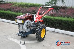diesel 15hp garden electric walking tractor