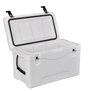 Wholesale ningbo cheap cooler box factory 38L for fishing with rotomolded technology