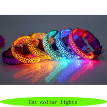 Wholesale cat collar lights, electronic pet, LED cat pet supplies