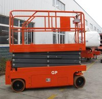 genie scissor lifts with Max platform height 7.4m