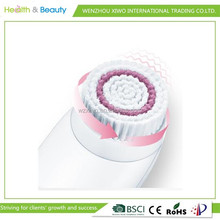 Rechargeable electric facial rotating cleaning brush/hand held skin washing brush