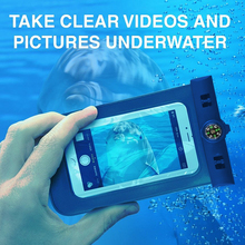 For all mobile phone Universal PVC Swimming waterproof phone case bag, Diving Armband waterproof bag pouch for iphone 6s 7 plus