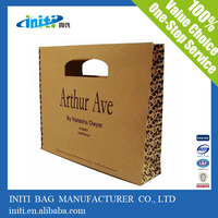 high quality recyclable die cut handle bag paper bag