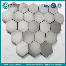 China manufacture made SSIC ceramic bulltproof tile for armor plate