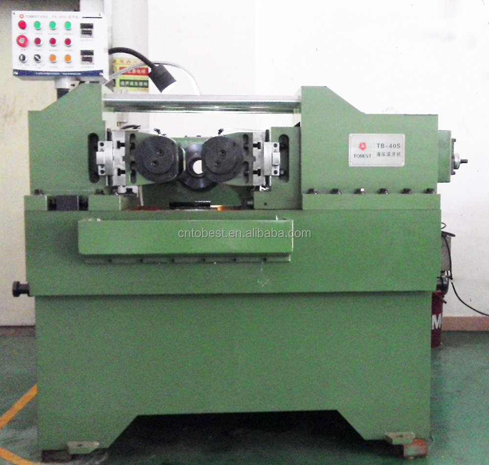 tobest screw thread rolling machine for making bolts