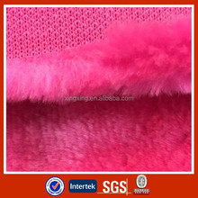 100% Polyester BOA fleece plush toy fabric