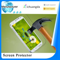 2014 latest premium durable 9H milo anti-explosion tempered glass screen protector for Samsung