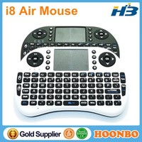 High Quality Mini Wireless Keyboard Air Mouse Remote Control Rii i8 2.4g For Android TV Box