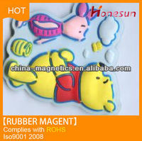 China Cartoon Magnetic Rubber Mat For Kids