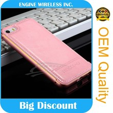 guangzhou china leather flip case cover for htc one s
