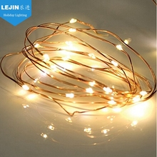 CE RoHS LED string light LED copper wire string lights for outdoor