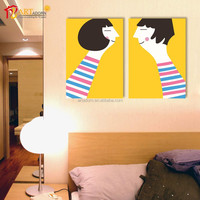 Home Decoration Wall Canvas Cartoon Painting Picture Art