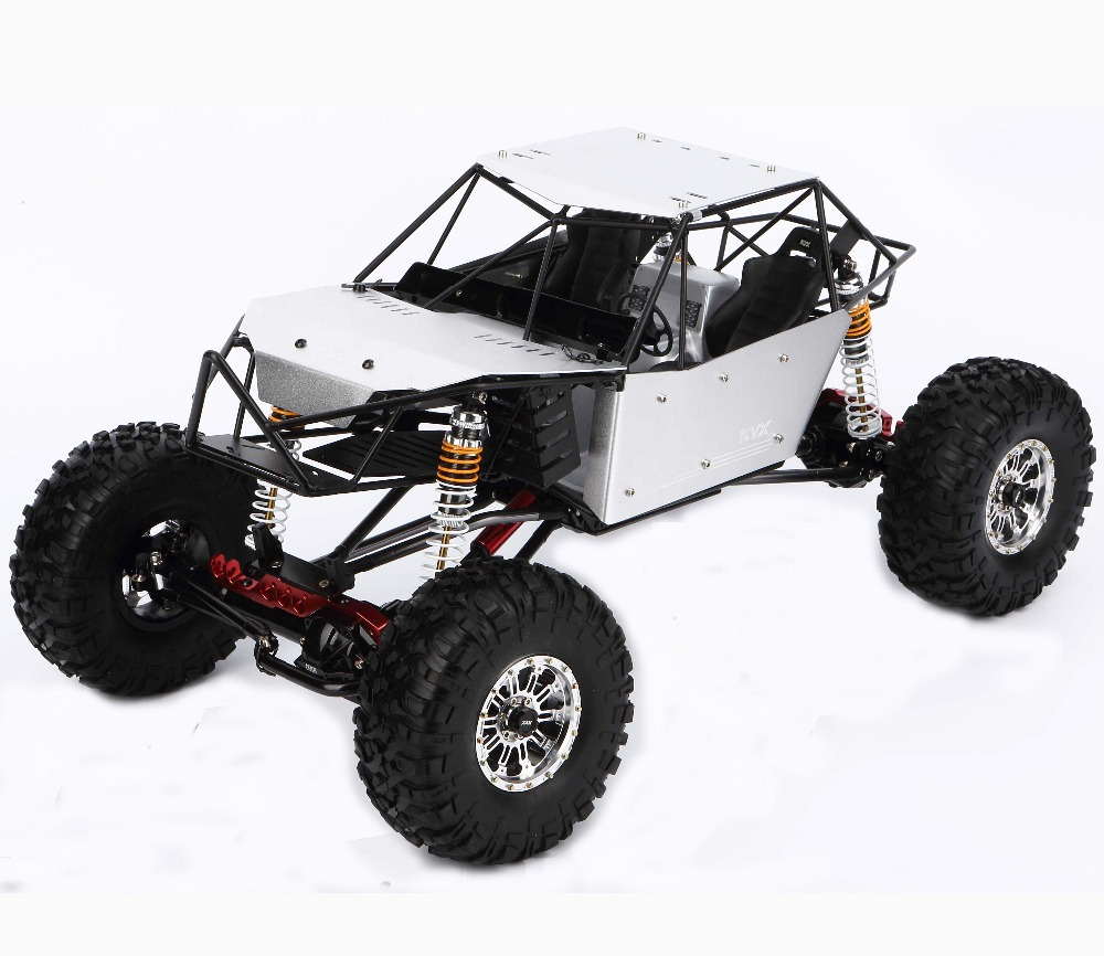 KYX 1/10 Scale 4WD RC Car Full Metal Roll Cage Modified Axial Wraith