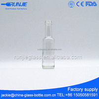 Small glass bottles for olive oil 50ml