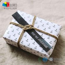 Anchor Printing White Kraft Wrapping Paper OEM