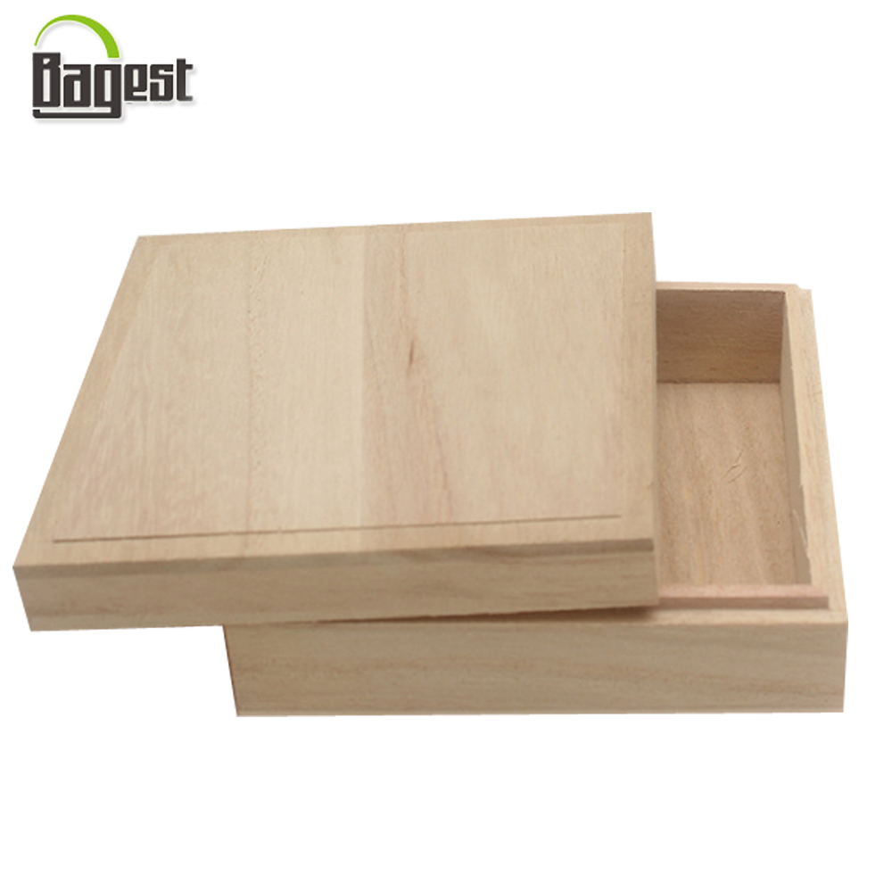 High Quality Top And Tray Wooden Box For Gift Package