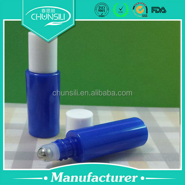 hot sale 10ml roll on pet bottle for ginseng essential oil