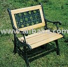 Nice single park bench chair