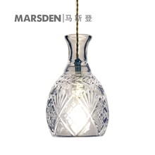 MARSDEN modern crystal glass led pendant lamp exquisite