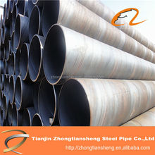 Api pipe schedule 40 black spiral steel pipe, carbon welded spiral steel pipe