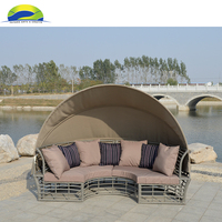Factory Direct Patio Beach Sunbed Outdoor