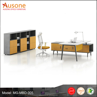 special design melamine desktop with vice desk metal office furniture dubai
