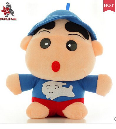 Super of lovely crayon small new classmate plush toy doll pillow funny doll