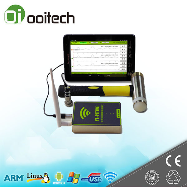 Low power embedded industrial processor Wireless low strain pile integrity test