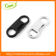 3 in 1 Bottle Opener Key Chain with USB charger