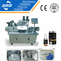 SM-ED30 Full Automatic small 10ml bottle filling machine