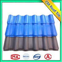 Light Weight Asa Layer Plastic Spanish Pvc Roof Tile
