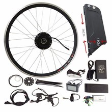 "20"" 26"" 700C 48V Kettle Battery Electric Bicycle Kit Front Rear Wheel Motor 250W 350W 500W Power Electric Bike conversion Kit"