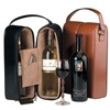 PU leather double wine tote bag wholesale