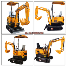 XINIU mini bagger hydraulic excavator for sale,hot sale small bagger