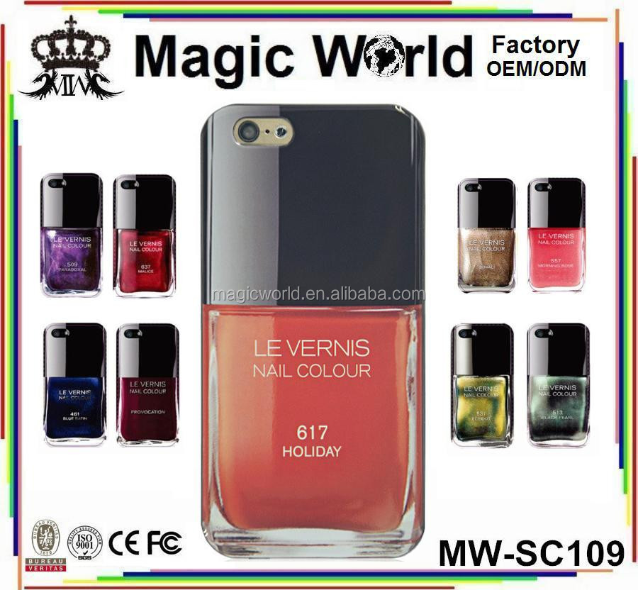 tpu nail polish phone case,for iphone 6 case