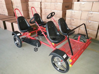 4 person wheelers pedal bike for sale