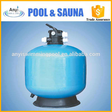 portable swimming pools 400mm water sand filter tank from guangzhou