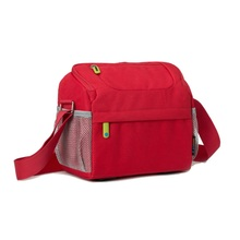 OEM ODM red Digital SLR / DSLR Compact Camera Bag for Shoulder Travel SLR Gadget