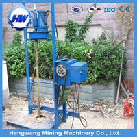 Portable HW80 shallow water well drilling equipment for sale