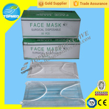 ECOMSOFT Doctor surgical medical SBPP disposable face mask , Nonwoven latex free and effectively face mask