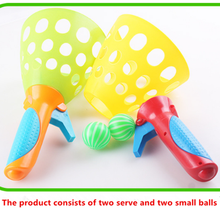 Kindergarten children's puzzle toy bounce ball outdoor parent-child sports toys to catch the ball