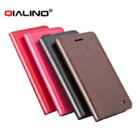 QIALINO Extra Slim 5.5 Inch Phone Case For Iphone 6 Plus Genuine Leather Custom Made