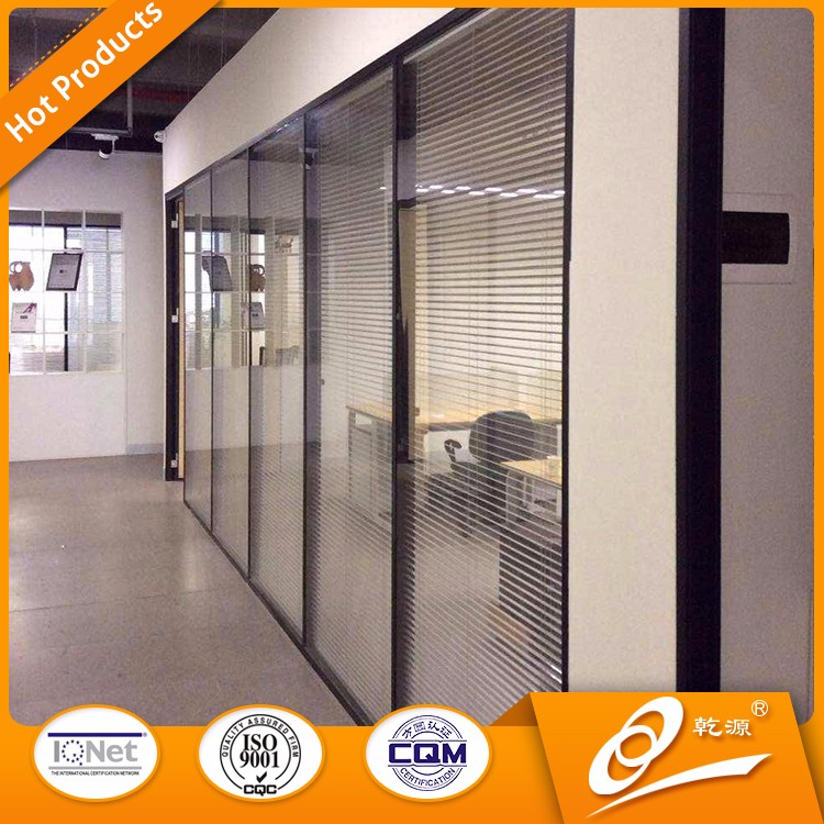 Latest design used office wall partitions with office glass partition