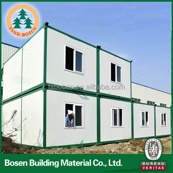 easy assembled container prefabricated apartments modular building